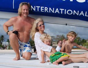 Family in Barbados