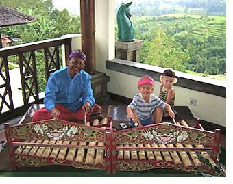 Boys in Bali