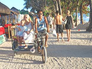 Jon-Jon Kathryn Pedicab