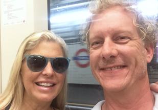 K & J on the Tube