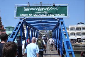 Thai visa run to Myanmar