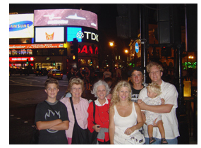 Our Family in Piccadilly Circus