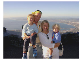 Our Family atop Cape Town's Table Mountain